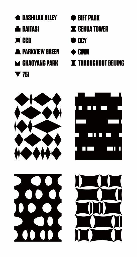 Elementos sistema visual Beijing Design Week