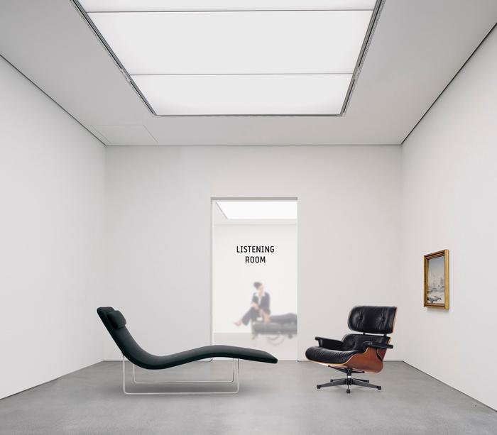 Sala de visitas con el psicólogo