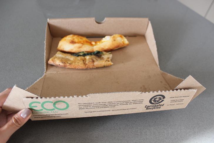 Caja de pizza ecológica