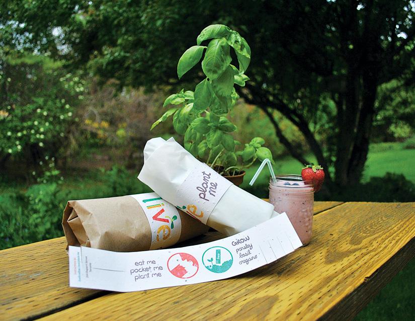 Packaging que se puede plantar