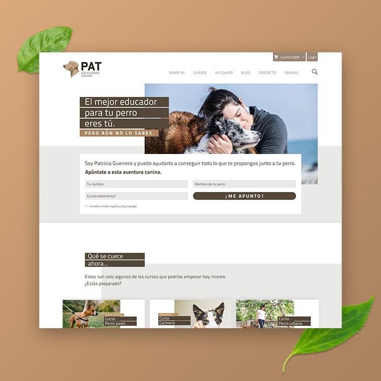 Web Pat educadora canina