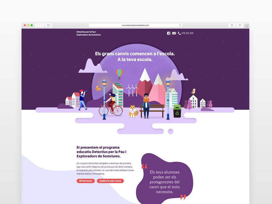 Página web DPiES