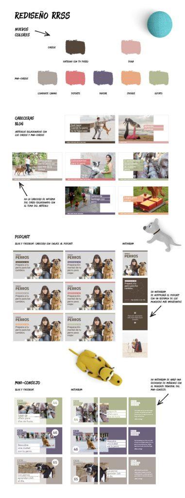 Sistema de diseño Pat educadora canina