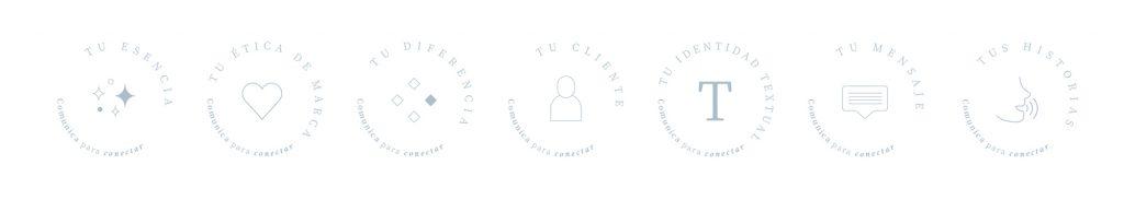 Iconos curso online Alba Sueiro