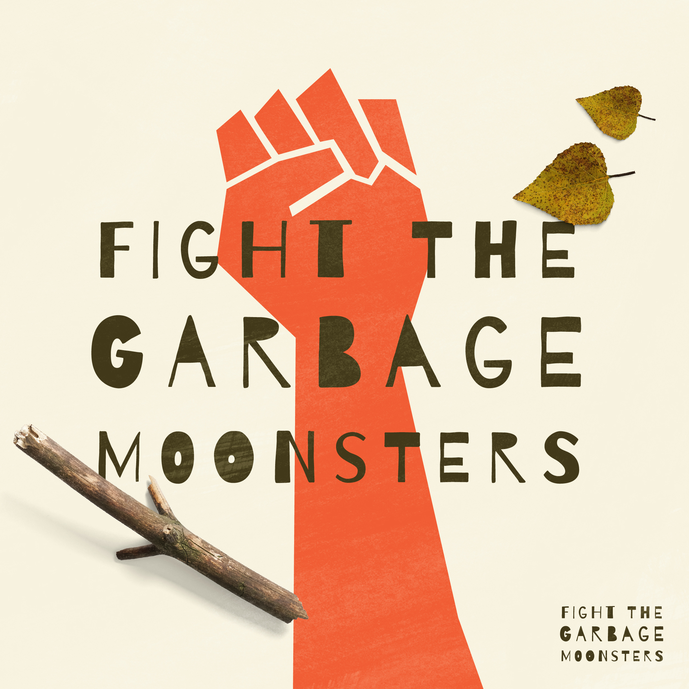 Logotipo Fight the garbage moonsters